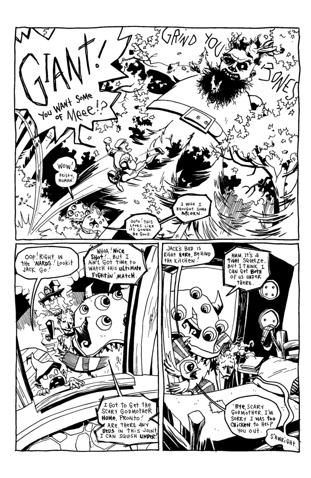 Read online Scary Godmother Comic Book Stories comic -  Issue # TPB - 218