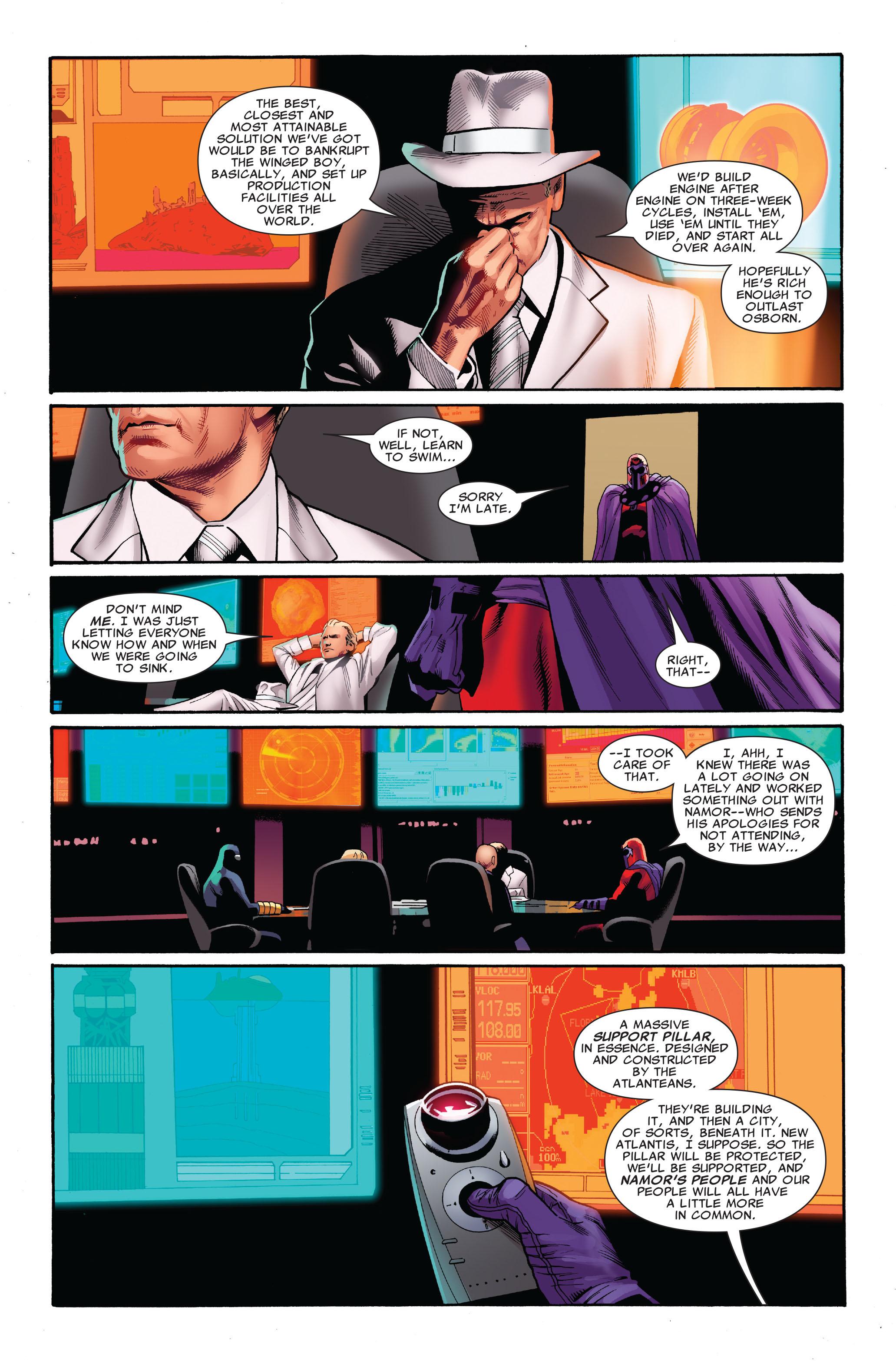 Read online Uncanny X-Men (1963) comic -  Issue #520 - 12