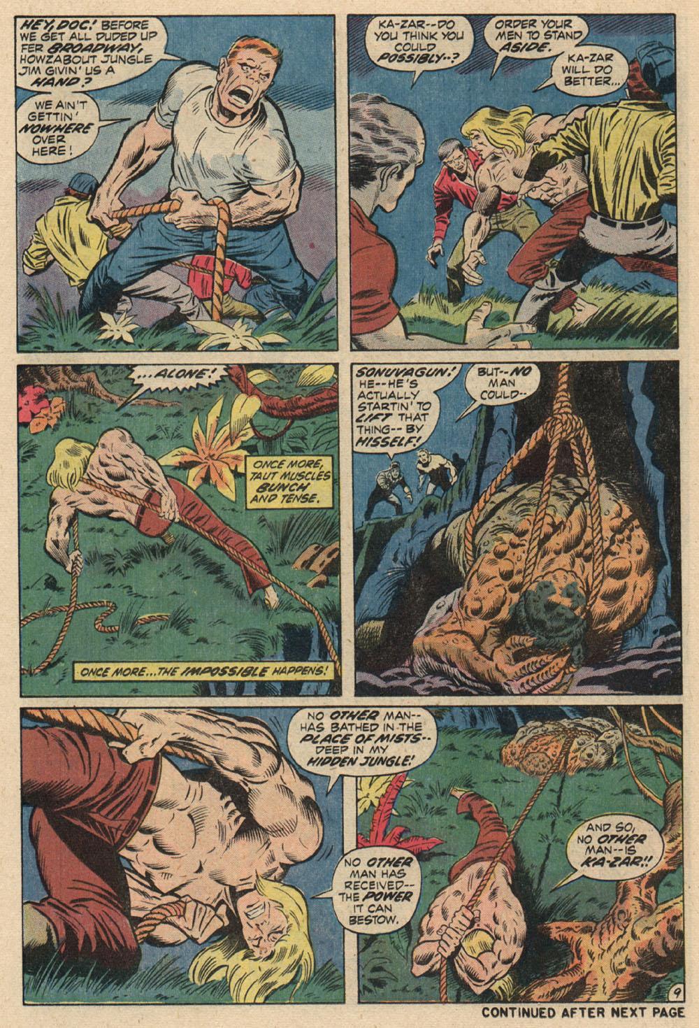 Read online Astonishing Tales (1970) comic -  Issue #13 - 10