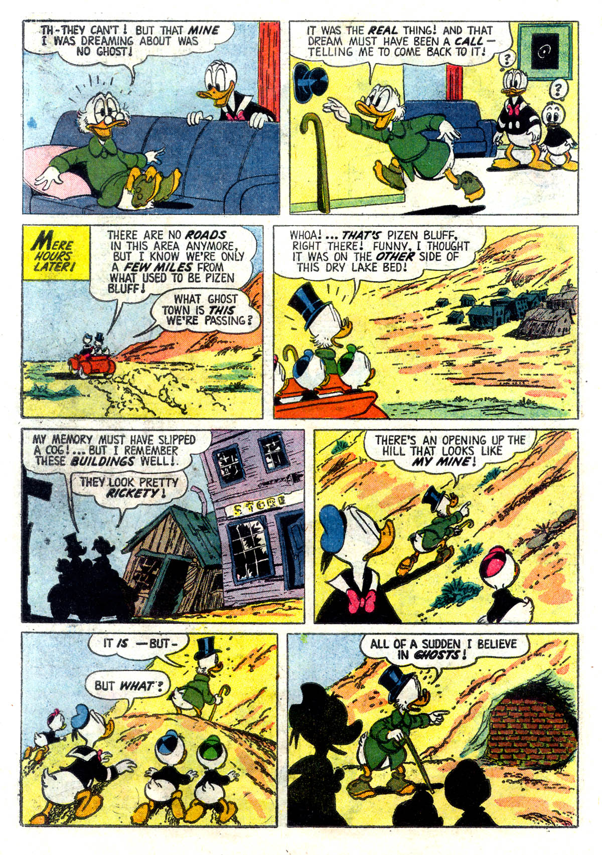 Read online Uncle Scrooge (1953) comic -  Issue #26 - 30