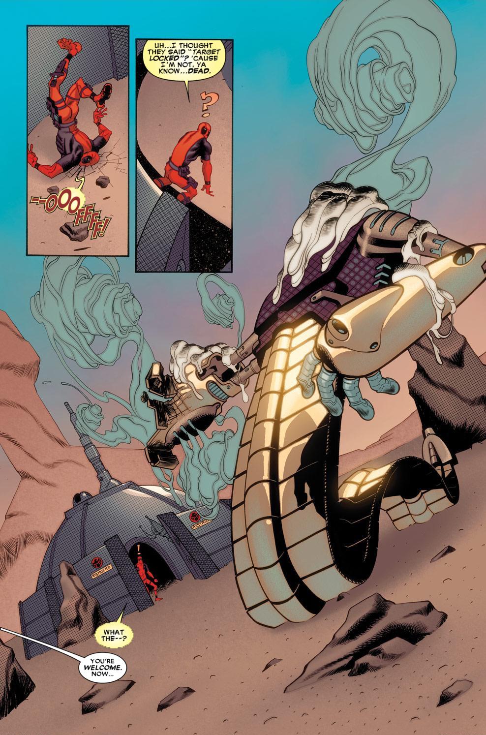 Read online Deadpool (2008) comic -  Issue #56 - 21