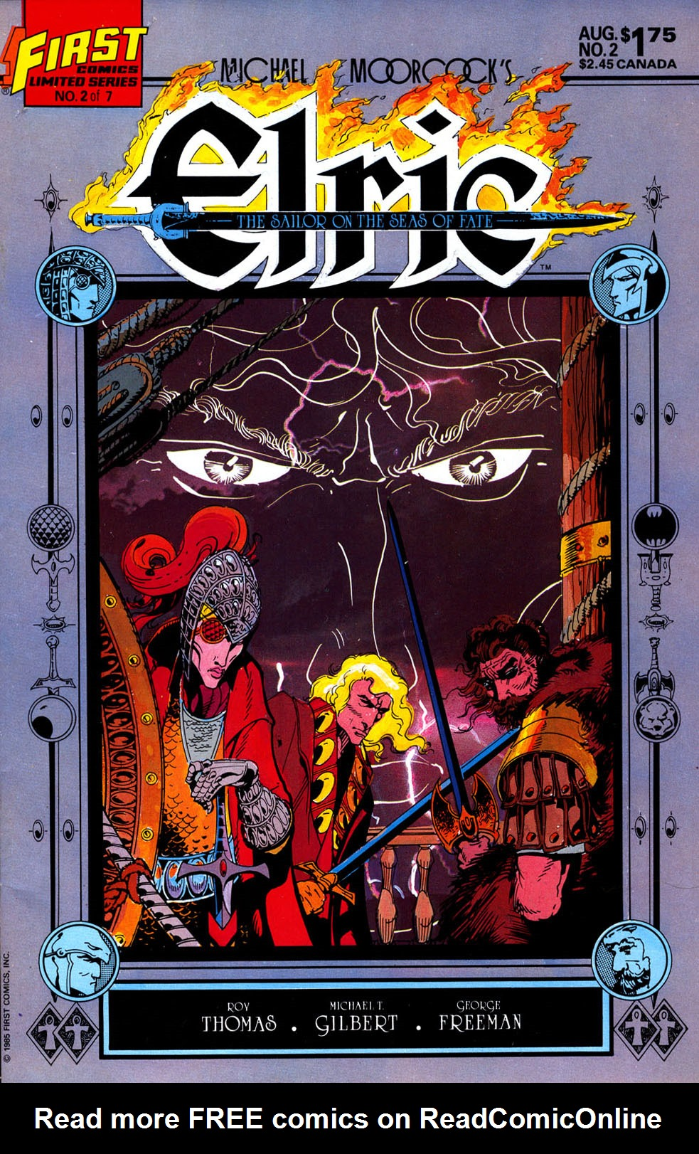 Read online Elric: Sailor on the Seas of Fate comic -  Issue #2 - 1