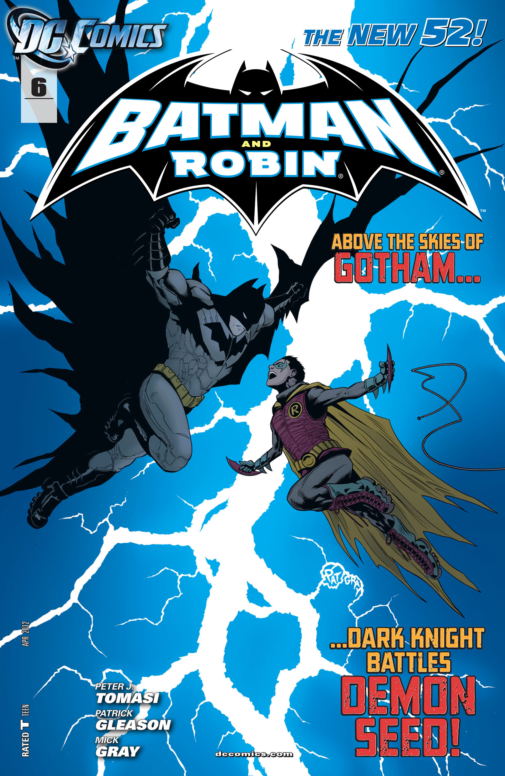 Read online Batman and Robin (2011) comic -  Issue #6 - 1