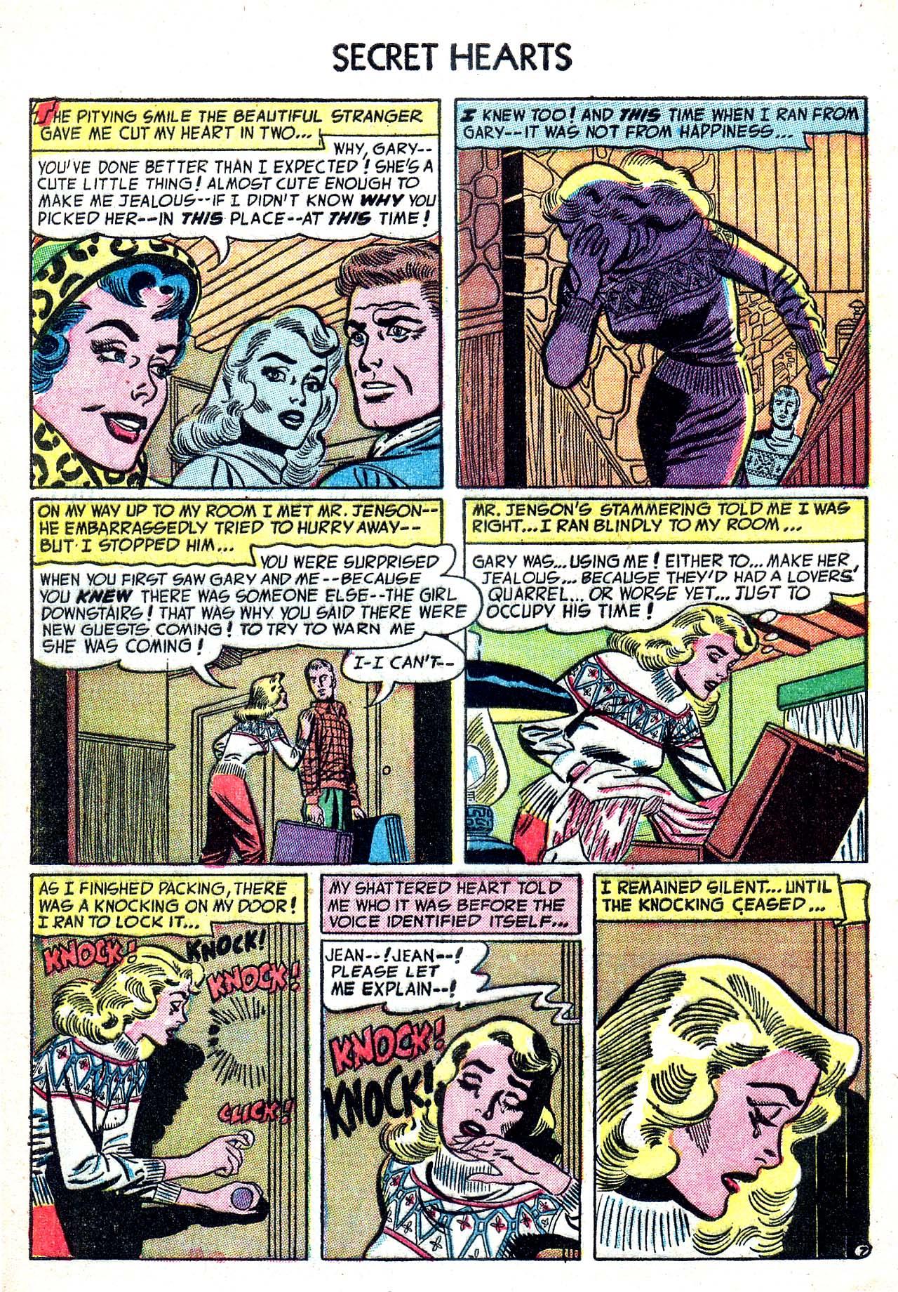 Read online Secret Hearts comic -  Issue #20 - 32