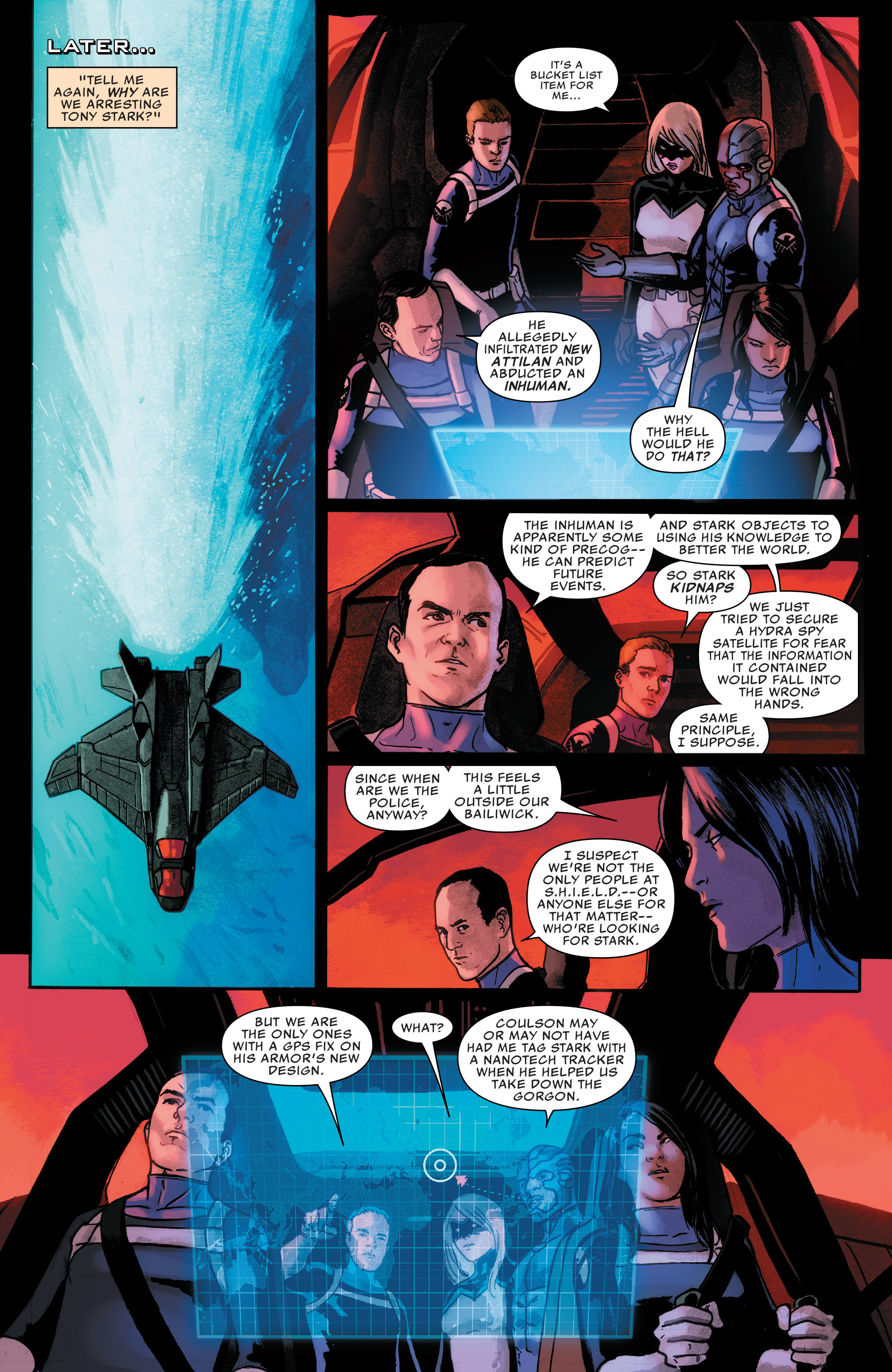 Read online Agents of S.H.I.E.L.D. comic -  Issue #7 - 9