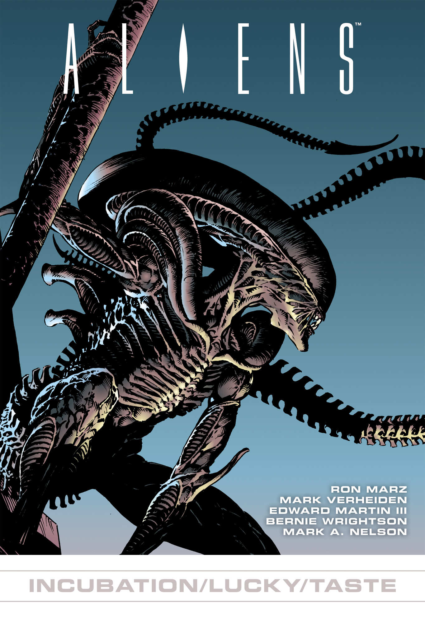 Read online Aliens: Incubation/Lucky/Taste comic -  Issue # Full - 1