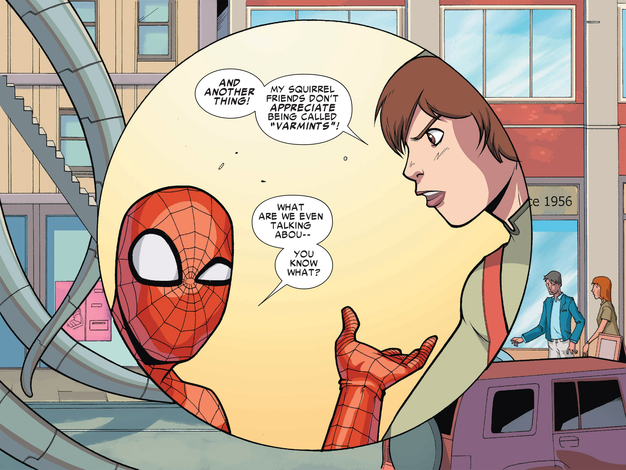 Read online Ultimate Spider-Man (Infinite Comics) (2016) comic -  Issue #1 - 56