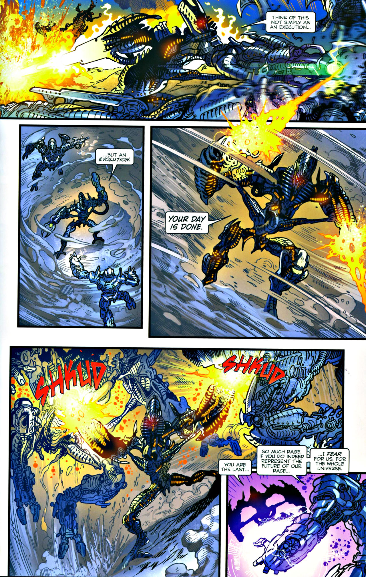 Read online Transformers: Tales of The Fallen comic -  Issue #4 - 20