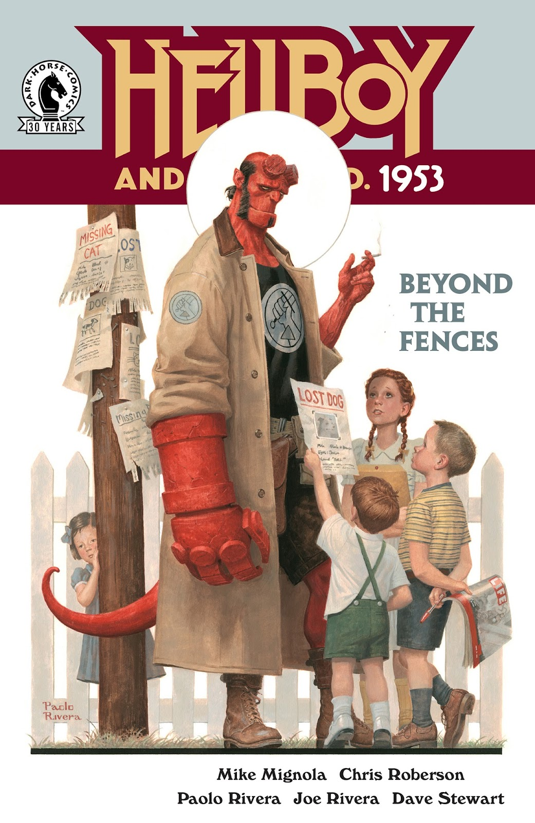 Hellboy and the B.P.R.D.: 1953 - Beyond the Fences issue 1 - Page 1