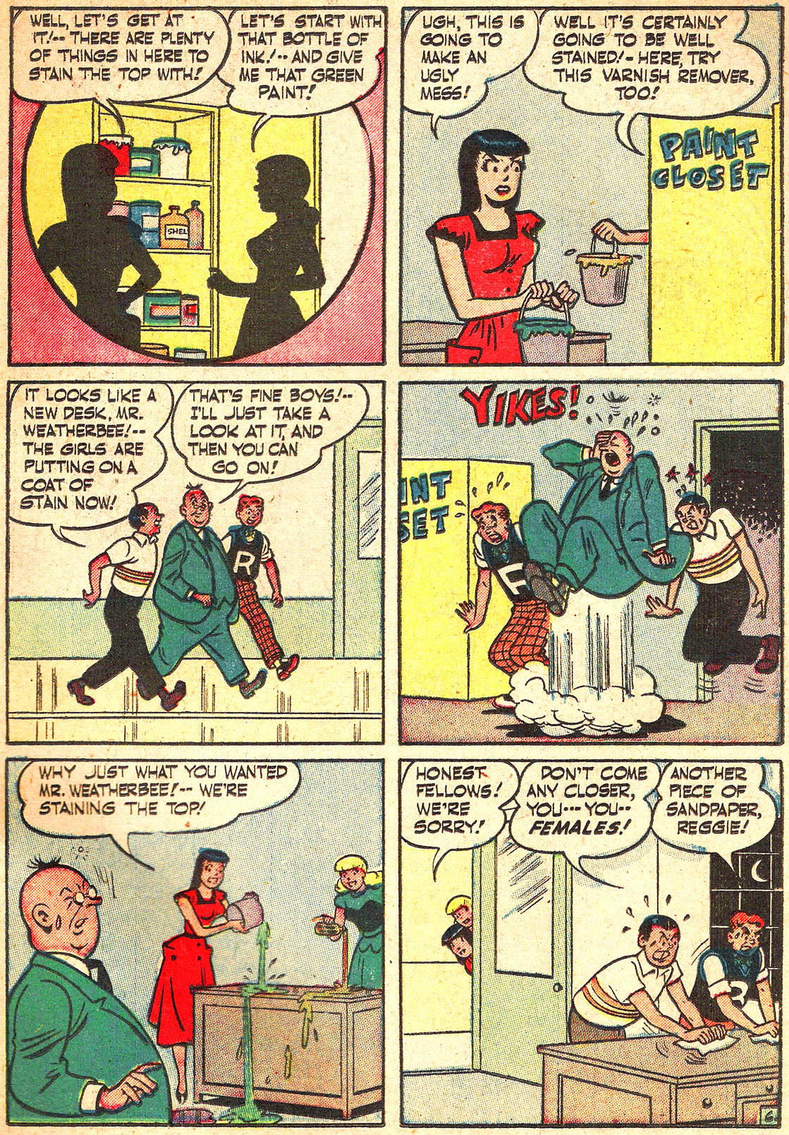 Read online Archie's Girls Betty and Veronica comic -  Issue #Archie's Girls Betty and Veronica Annual 1 - 35