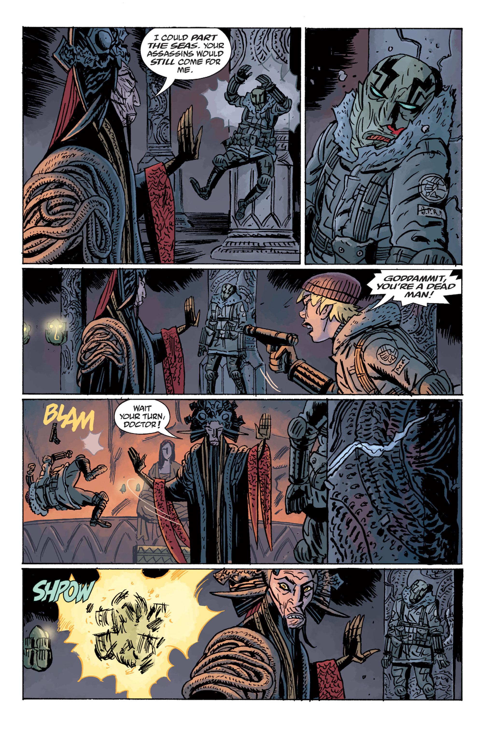 Read online B.P.R.D. (2003) comic -  Issue # TPB 11 - 120
