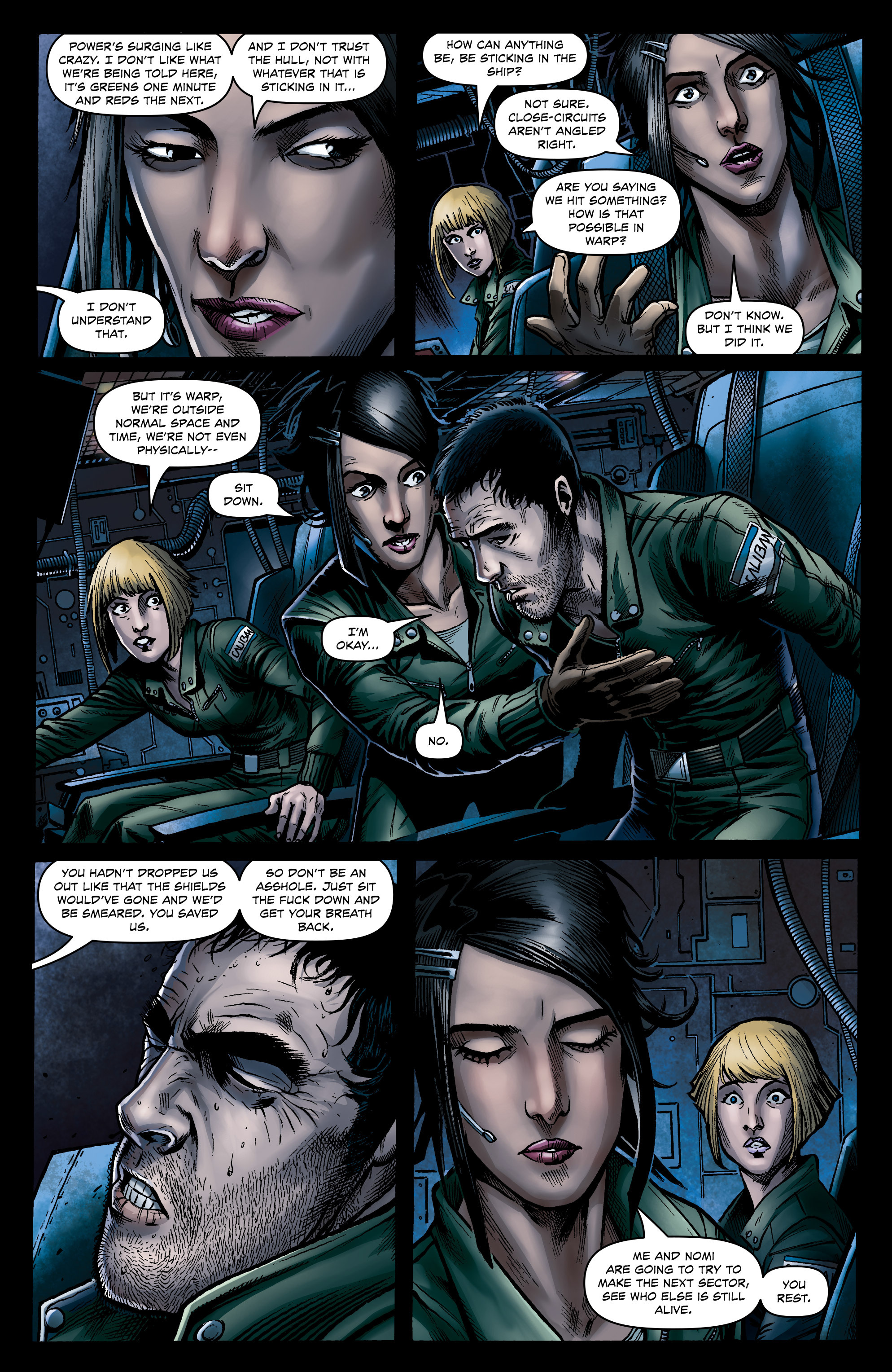 Read online Caliban comic -  Issue #1 - 20