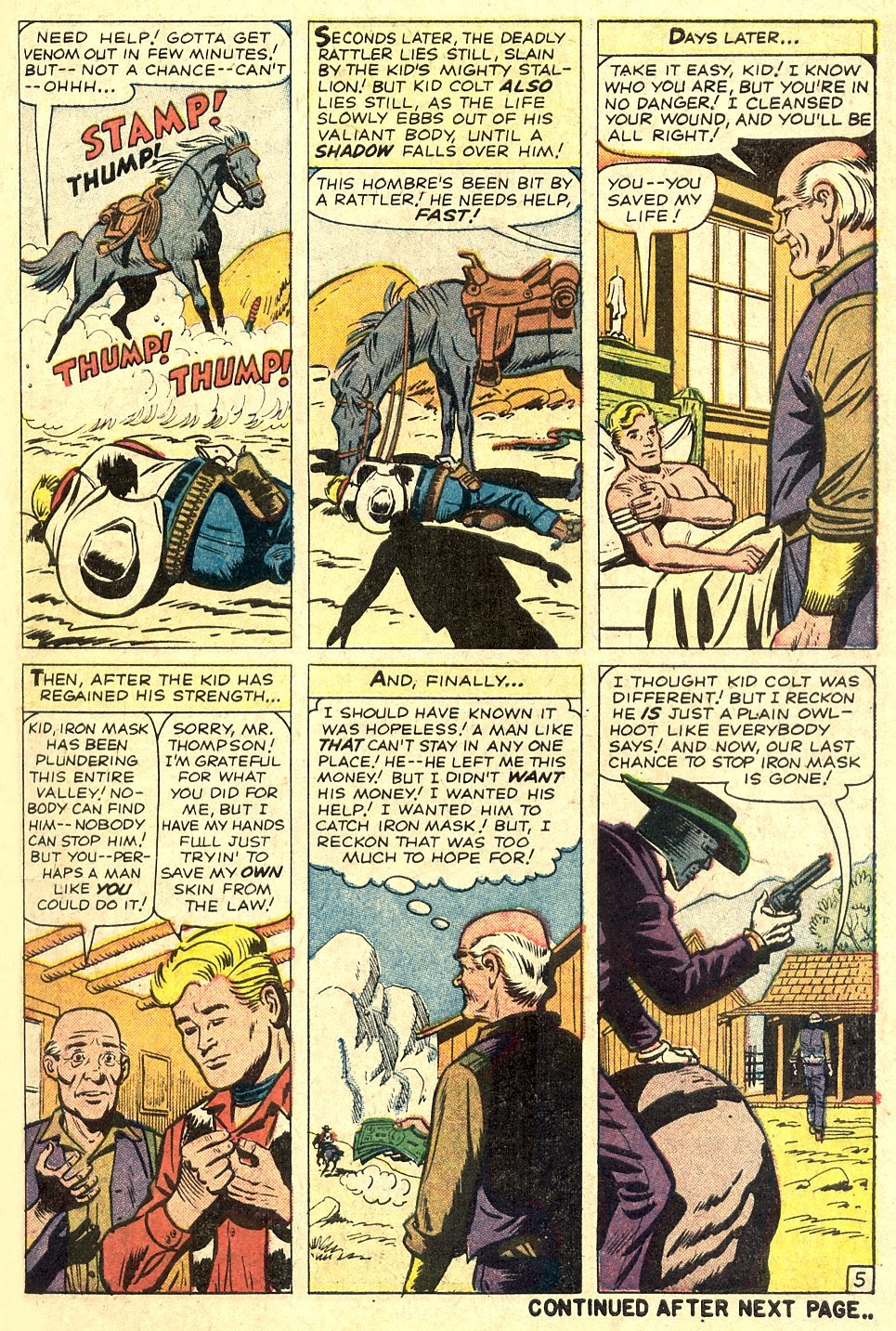 Kid Colt Outlaw issue 110 - Page 7