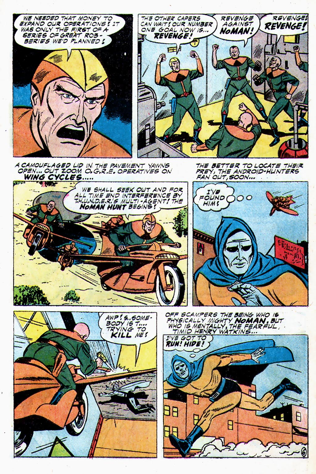 T.H.U.N.D.E.R. Agents (1965) issue 13 - Page 17
