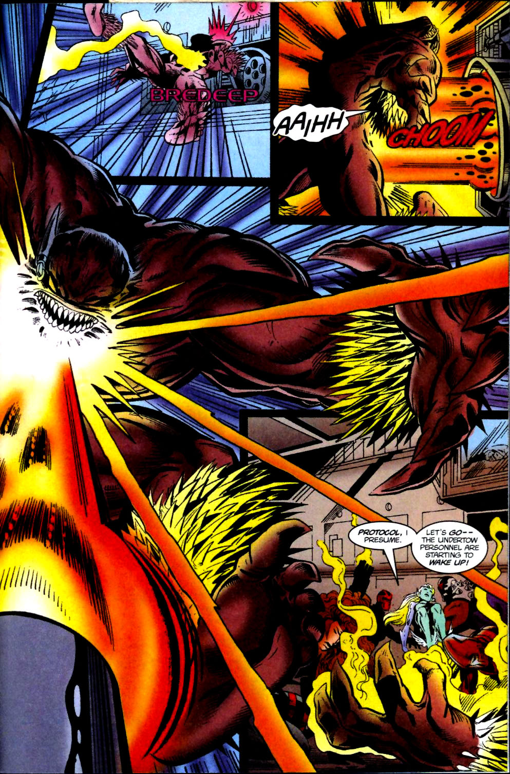 The New Warriors Issue #74 #78 - English 20