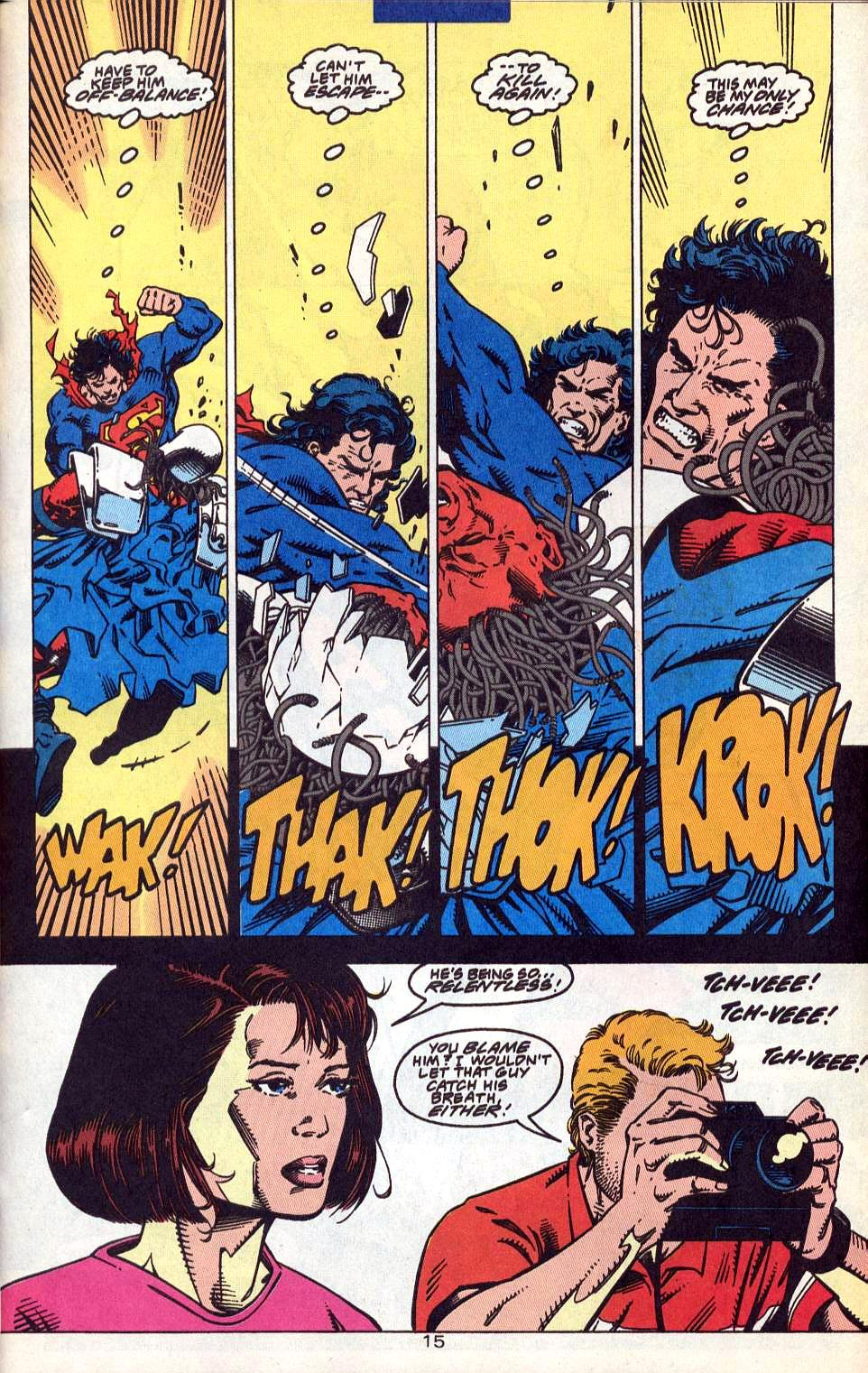 Read online Adventures of Superman (1987) comic -  Issue #515 - 17
