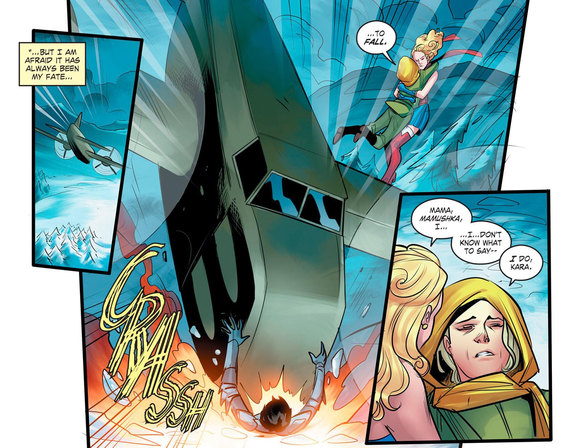 Read online DC Comics: Bombshells comic -  Issue #95 - 6