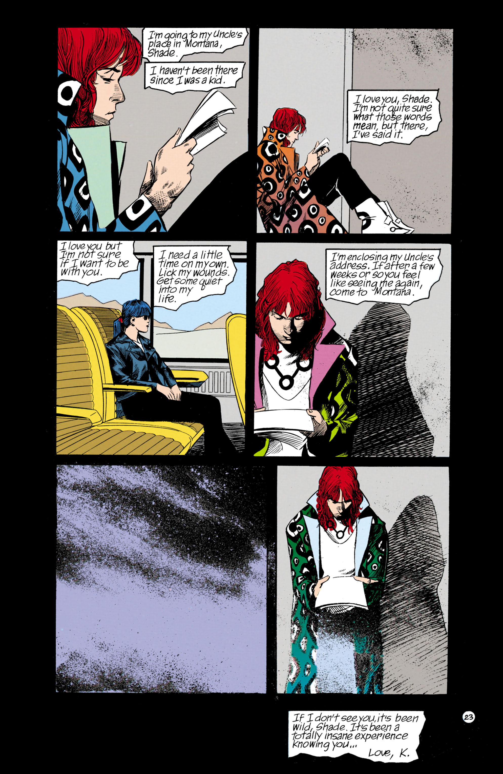 Read online Shade, the Changing Man comic -  Issue #18 - 23