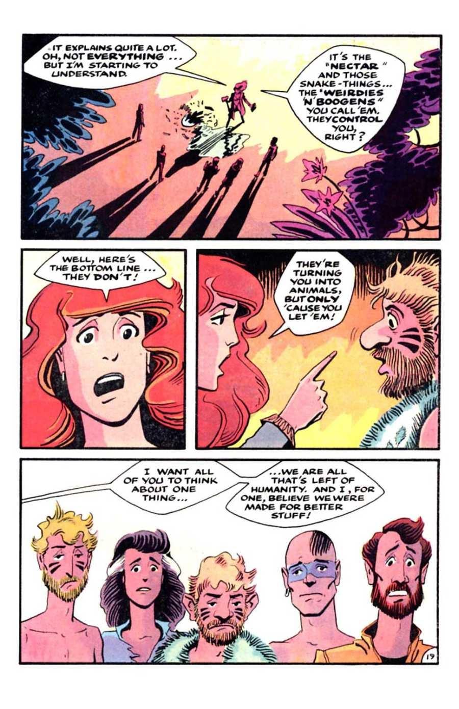 Read online Mars comic -  Issue #5 - 21