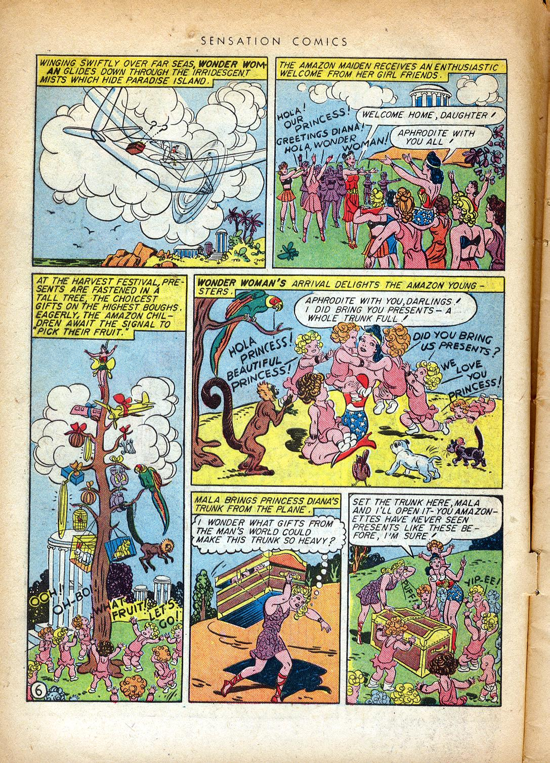 Read online Sensation (Mystery) Comics comic -  Issue #37 - 8