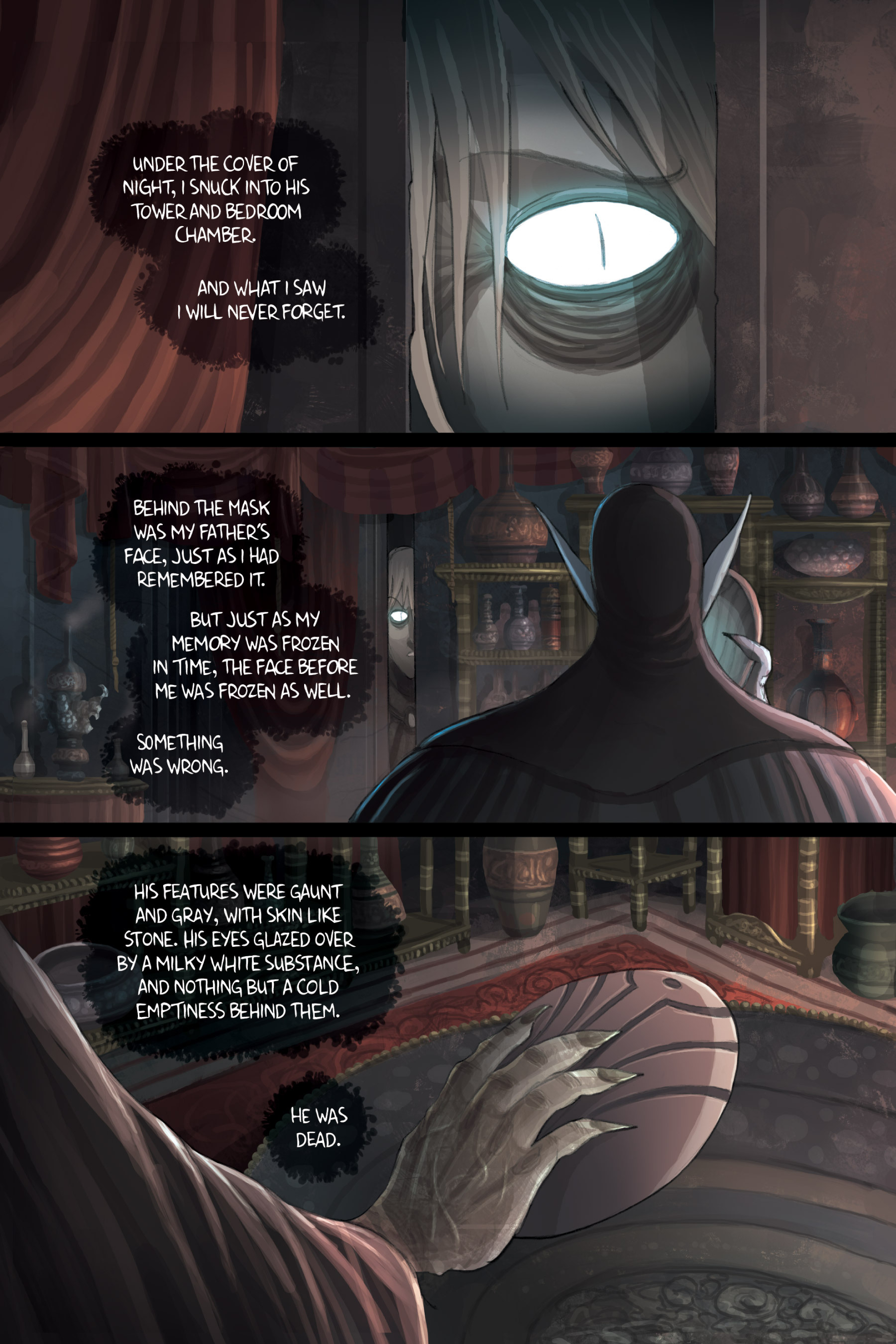 Read online Amulet comic -  Issue #3 - 136