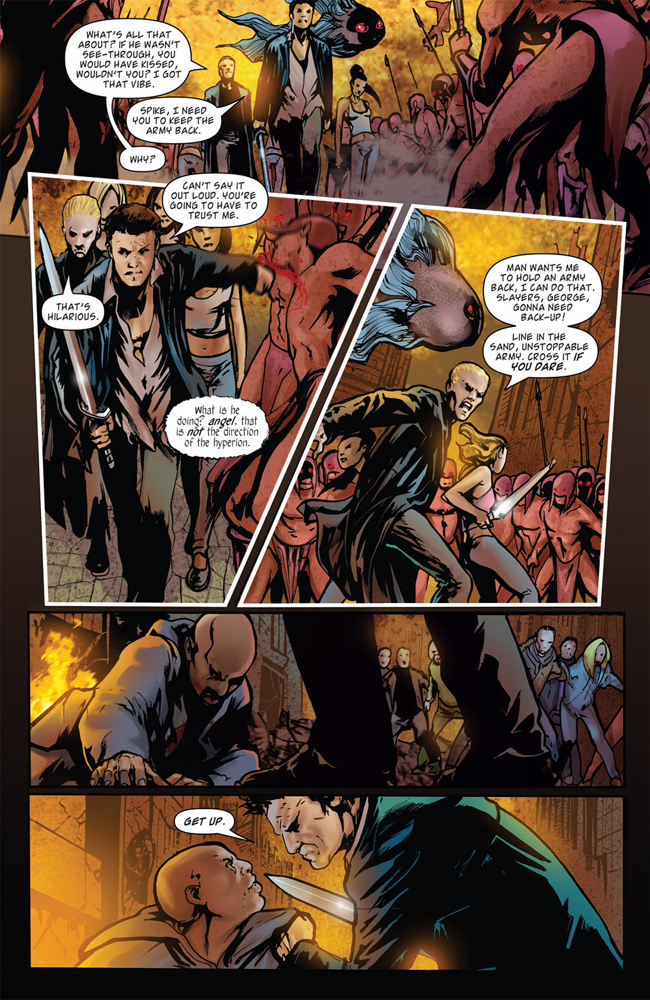 Read online Angel: After The Fall comic -  Issue #16 - 8