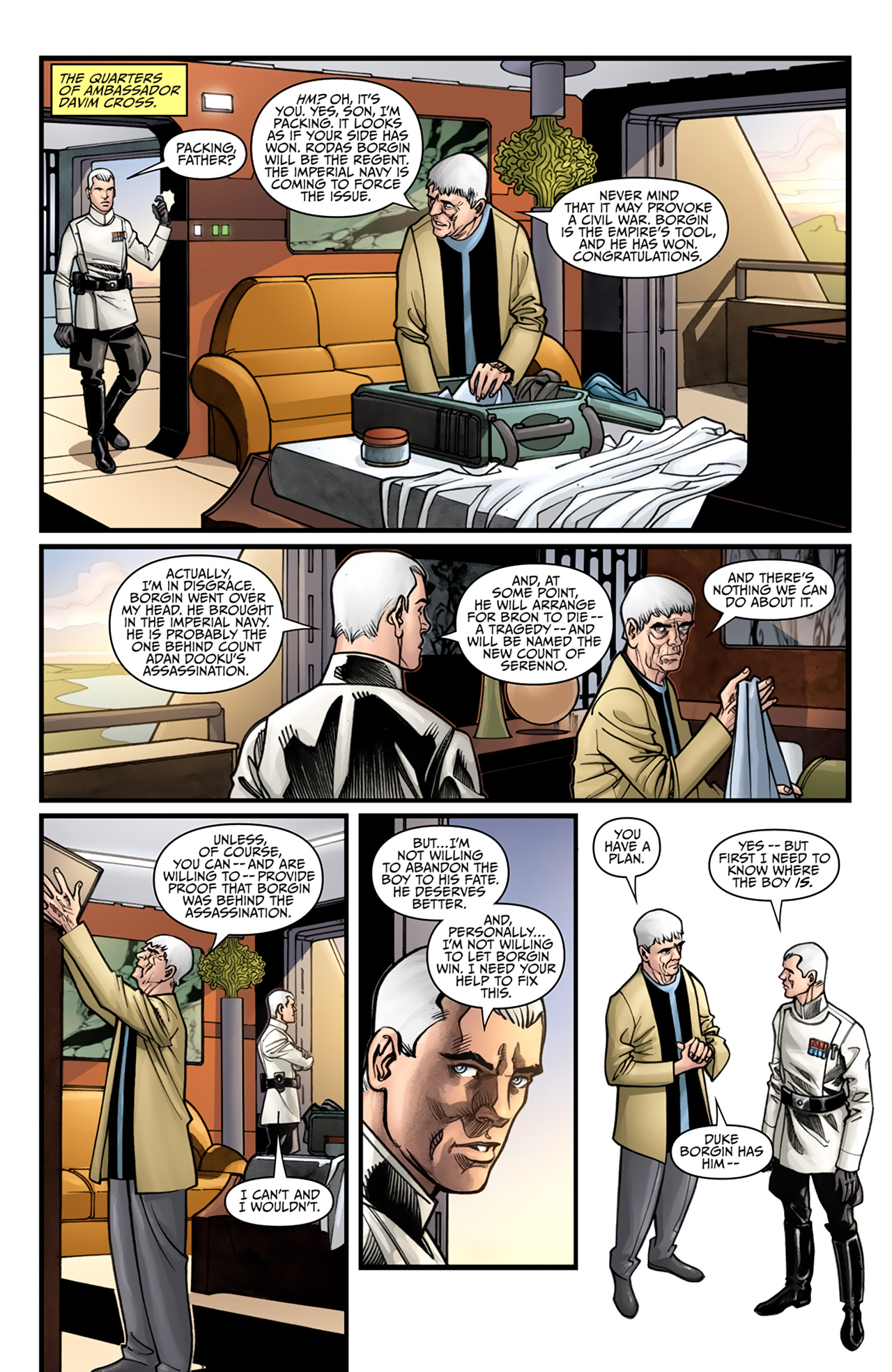 Read online Star Wars: Agent Of The Empire - Hard Targets comic -  Issue #4 - 9