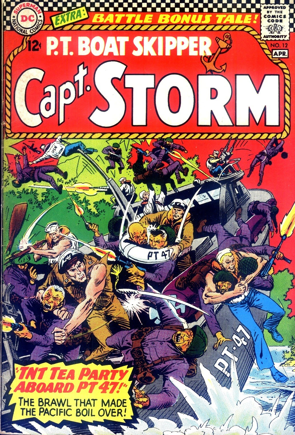 Capt. Storm issue 12 - Page 1