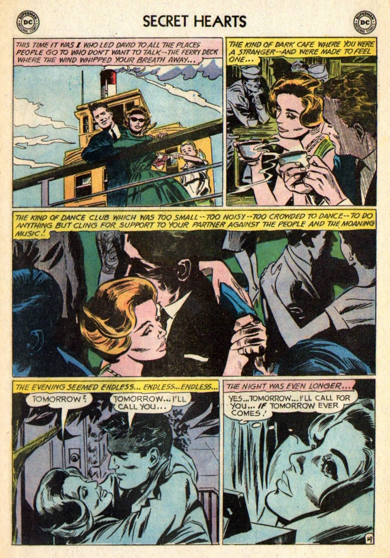 Read online Secret Hearts comic -  Issue #98 - 33