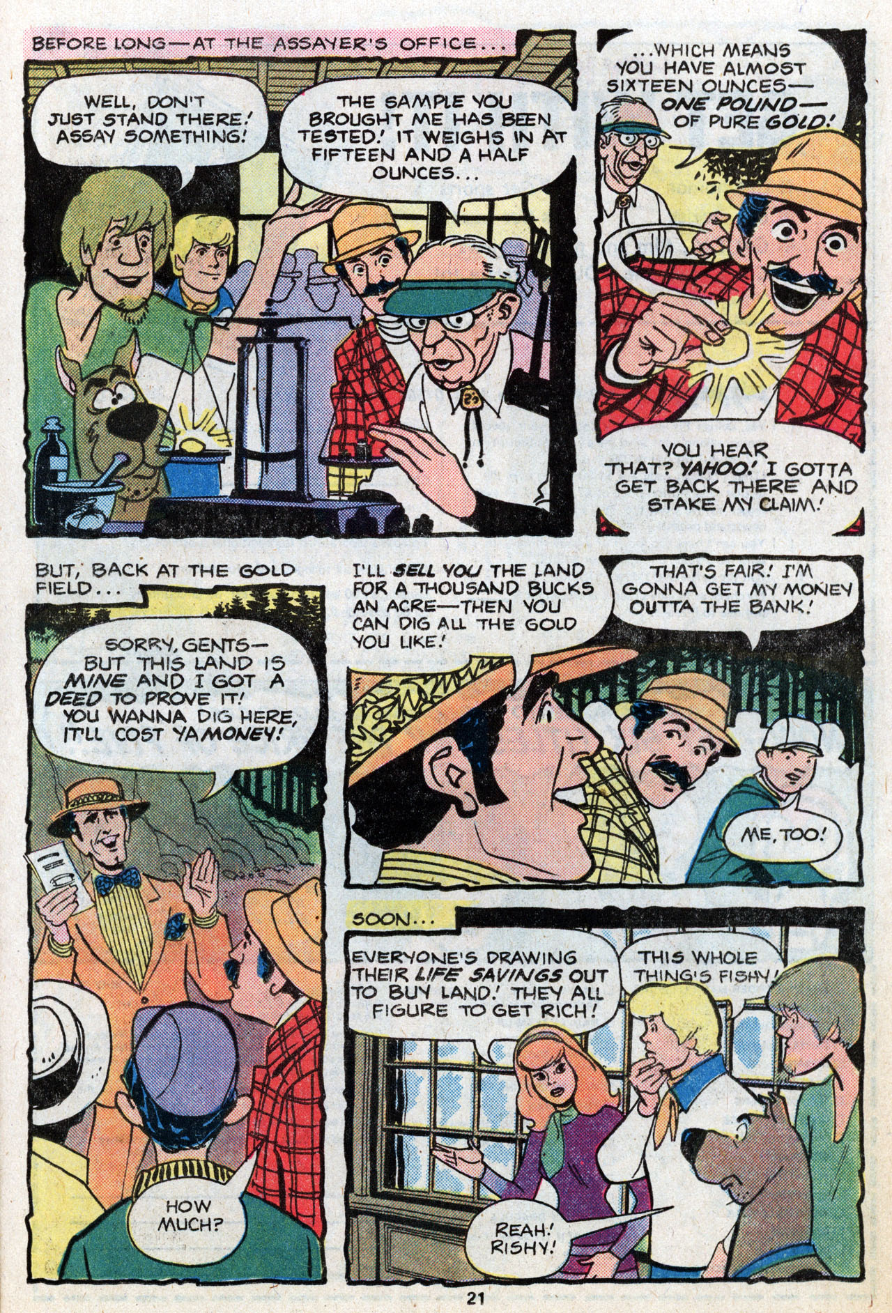 Read online Scooby-Doo (1977) comic -  Issue #6 - 22