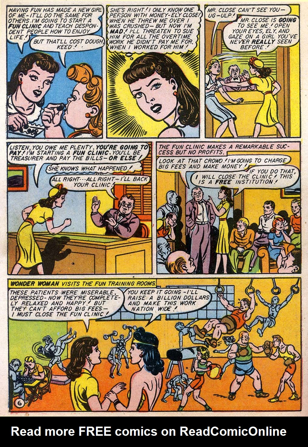 Read online Sensation (Mystery) Comics comic -  Issue #27 - 8