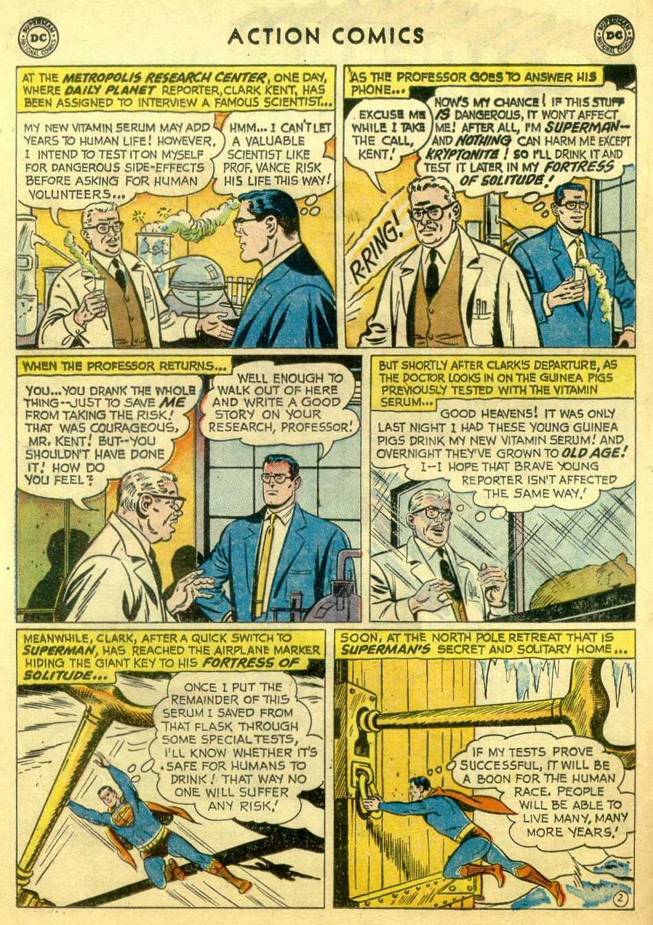 Read online Action Comics (1938) comic -  Issue #251 - 4