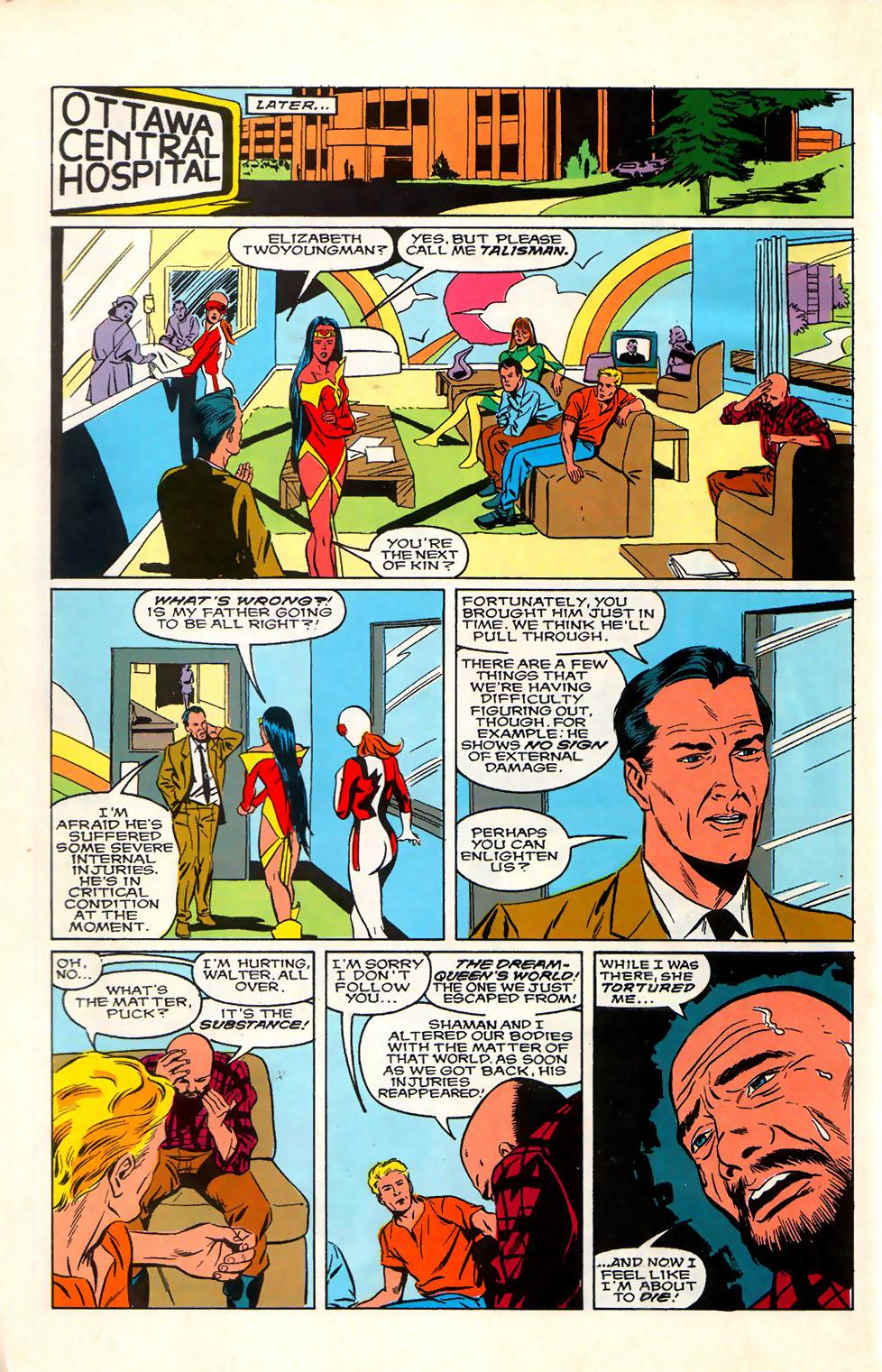 Read online Alpha Flight (1983) comic -  Issue #76 - 8
