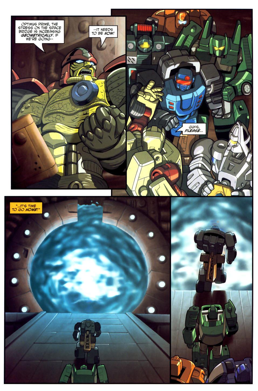 Read online Transformers Armada comic -  Issue #18 - 9