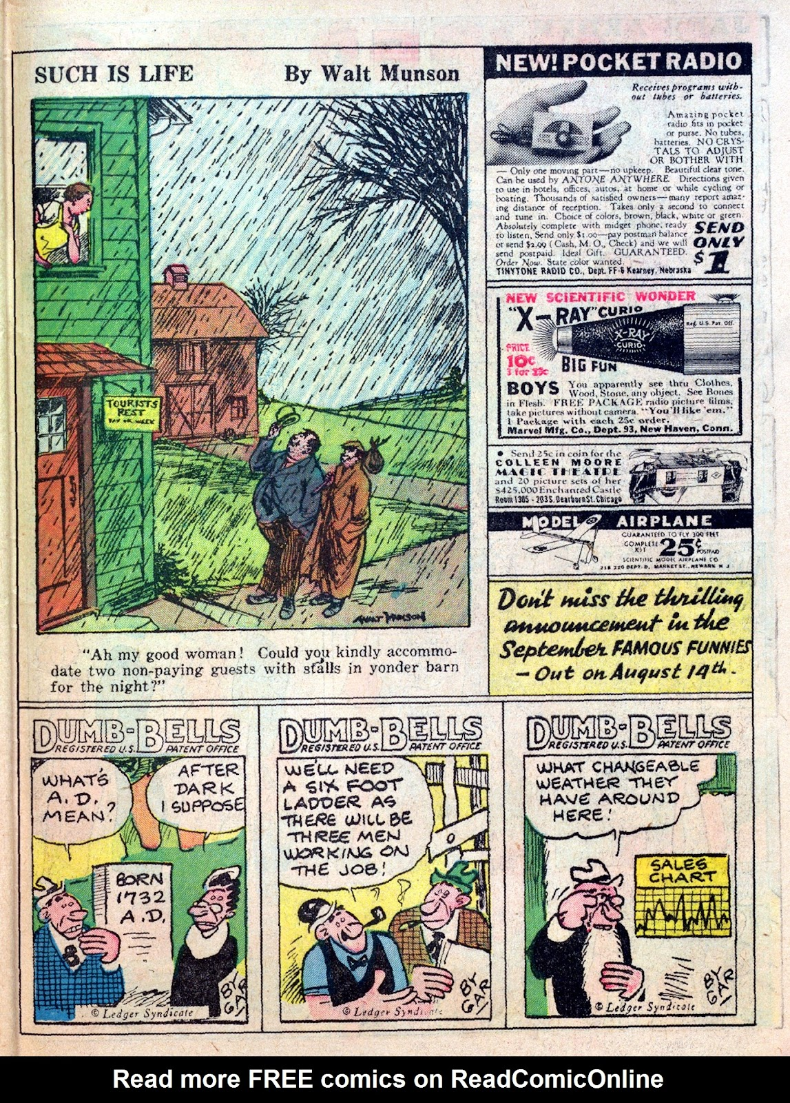 Read online Famous Funnies comic -  Issue #25 - 53