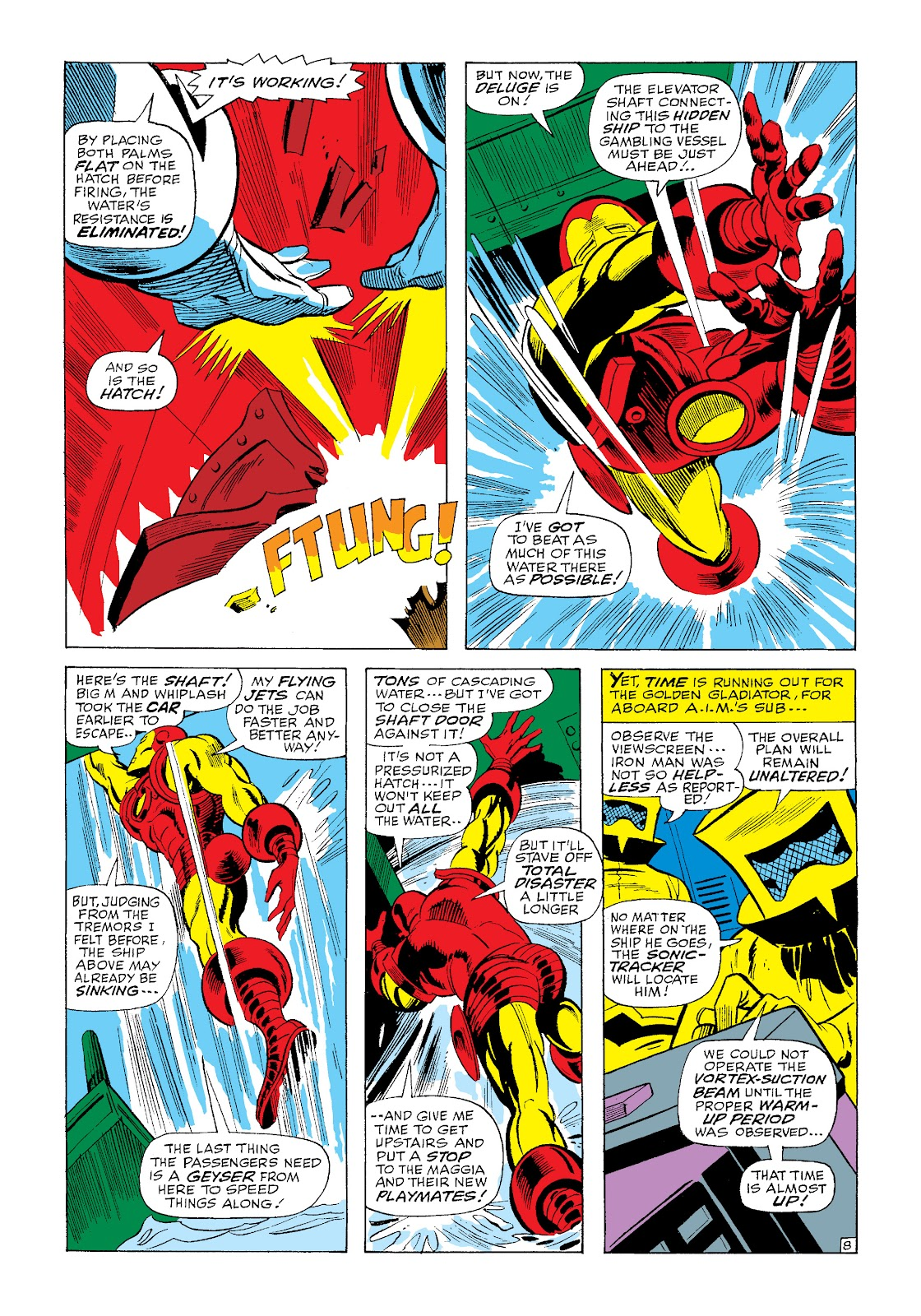 Read online Marvel Masterworks: The Invincible Iron Man comic -  Issue # TPB 4 (Part 3) - 20