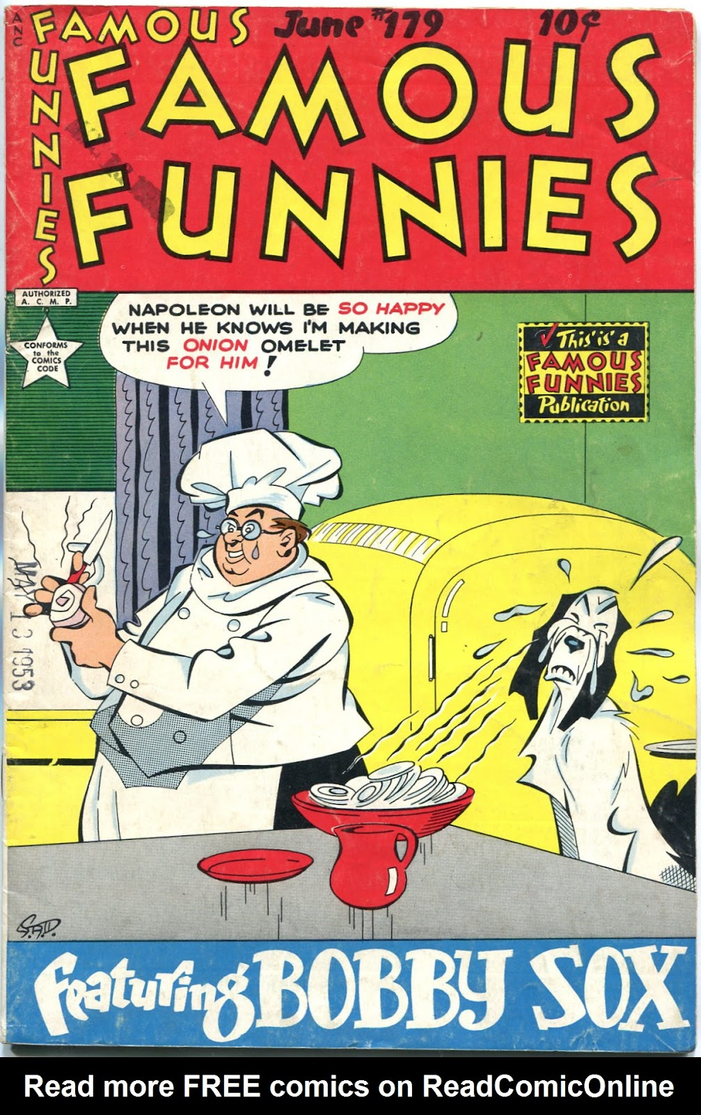 Read online Famous Funnies comic -  Issue #179 - 1