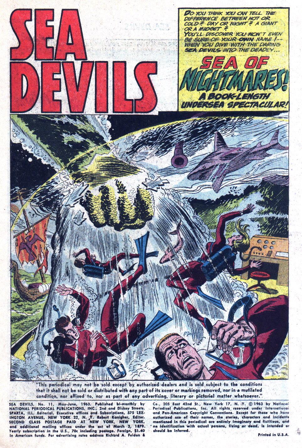 Read online Sea Devils comic -  Issue #11 - 3