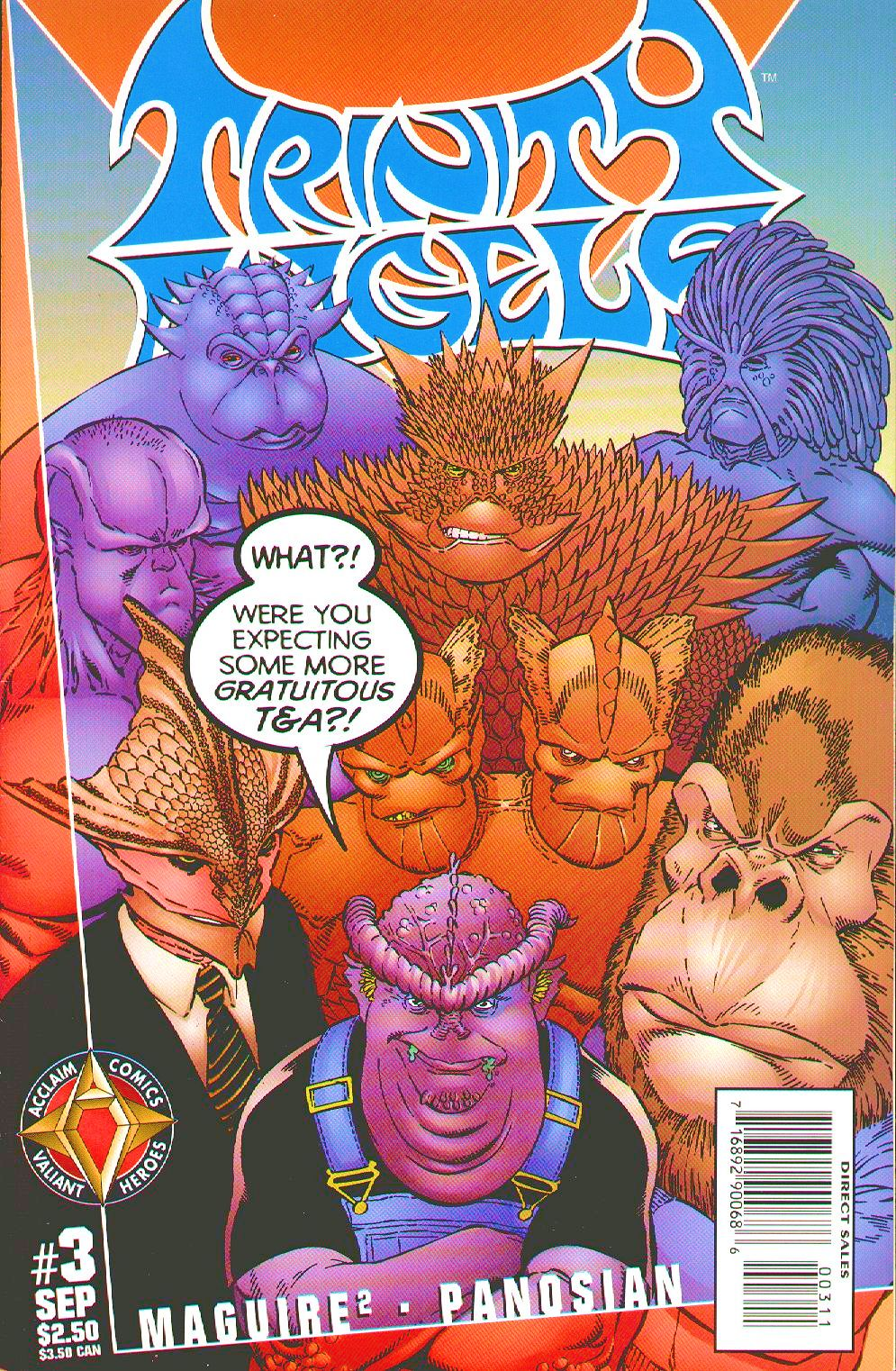 Read online Trinity Angels comic -  Issue #3 - 1