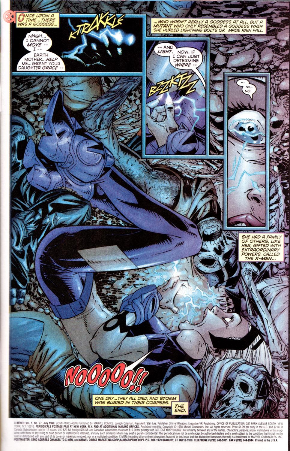 X-Men (1991) 77 Page 1