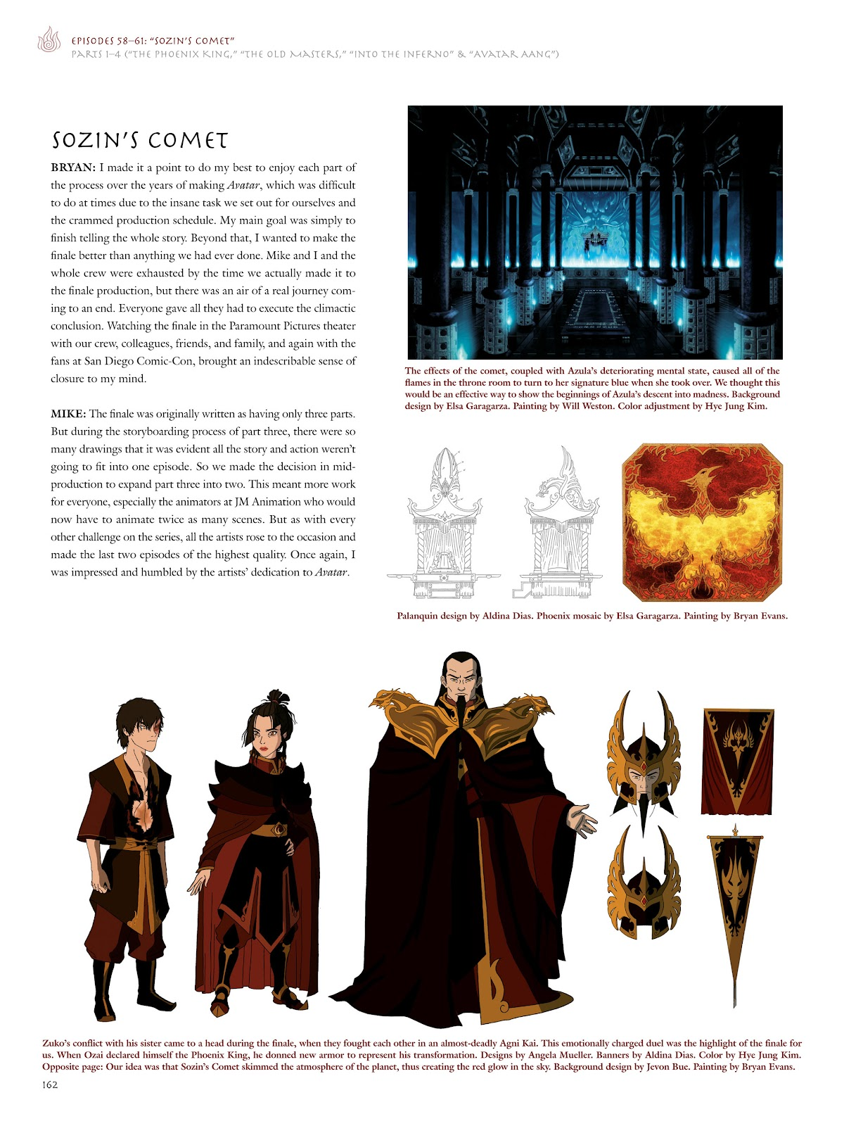 Read online Avatar: The Last Airbender - The Art of the Animated Series comic -  Issue # TPB (Part 2) - 59