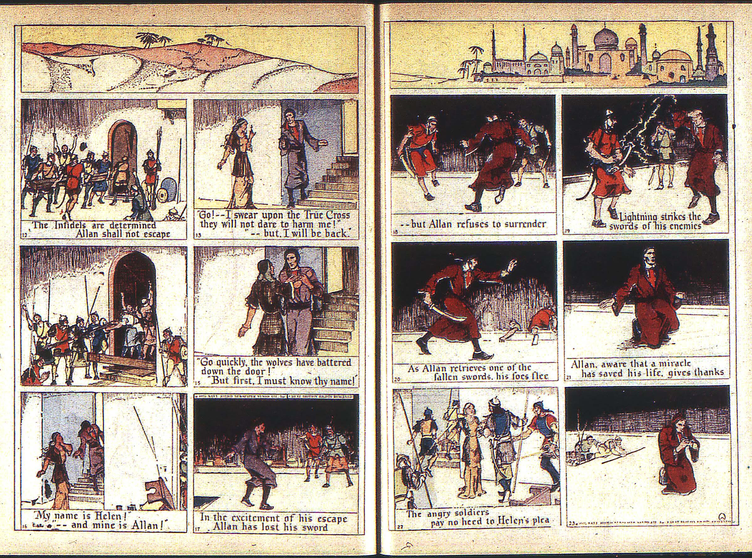 Read online Adventure Comics (1938) comic -  Issue #1 - 38