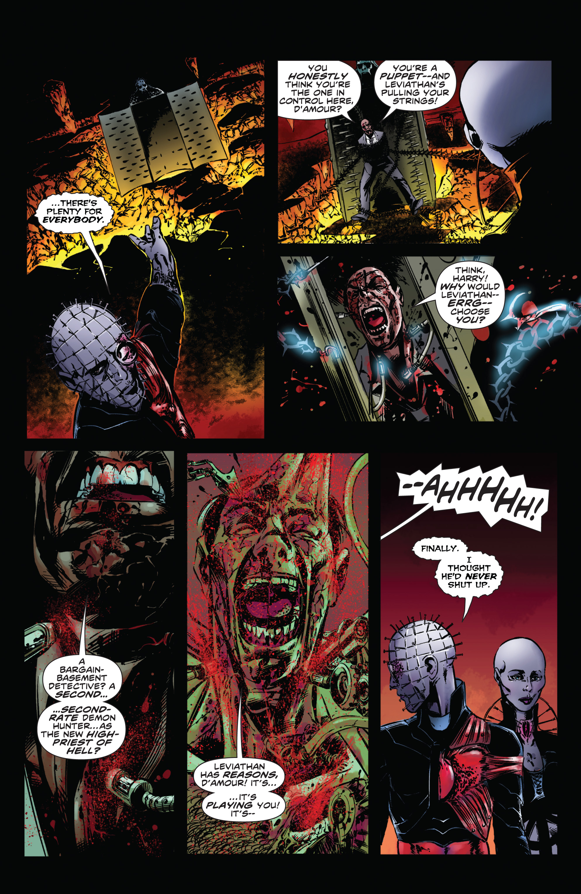 Read online Clive Barker's Hellraiser: The Dark Watch comic -  Issue # TPB 1 - 23