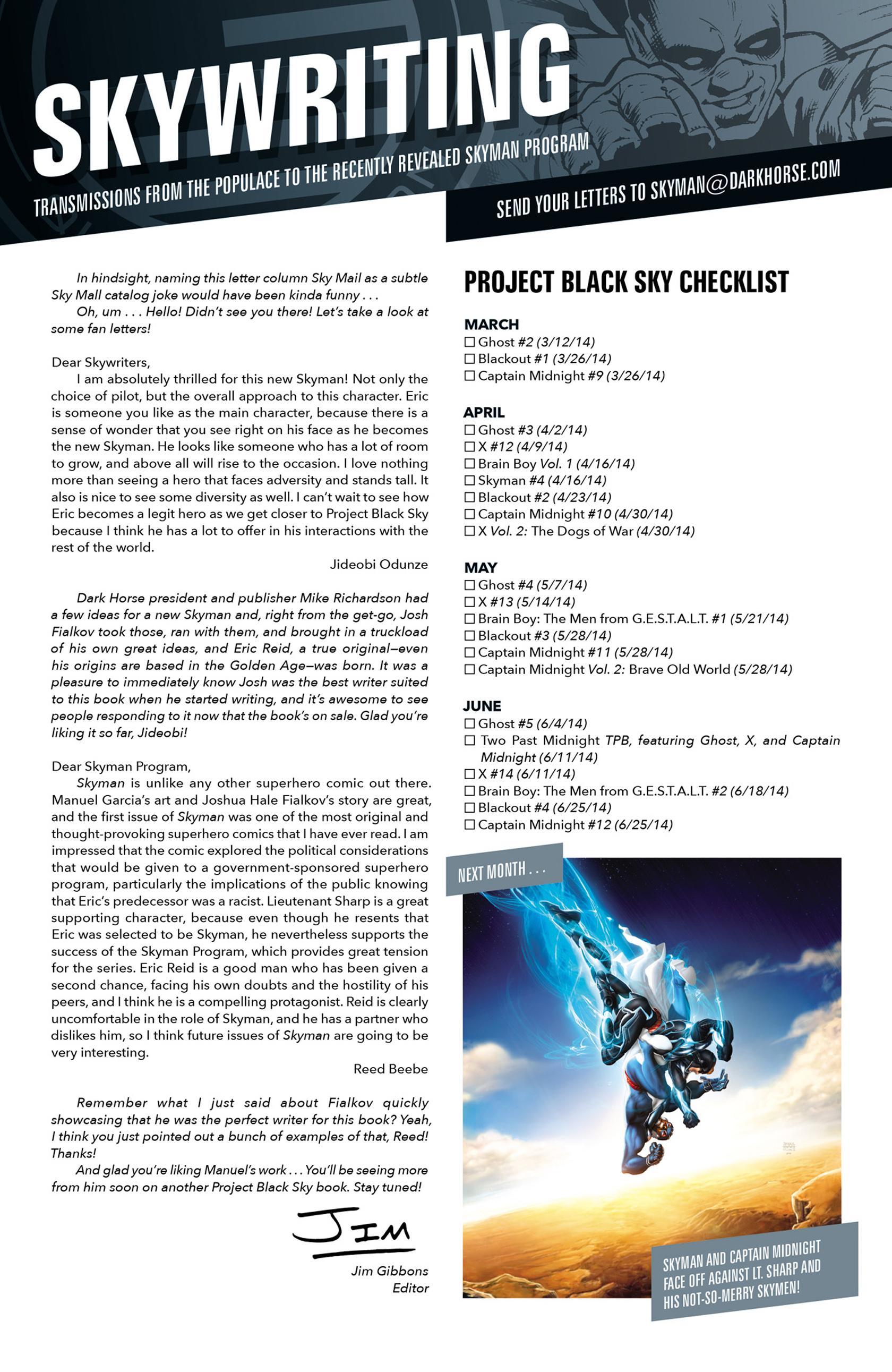 Read online Skyman comic -  Issue #3 - 21