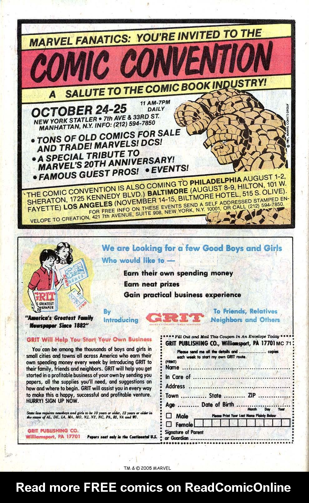 Read online Uncanny X-Men (1963) comic -  Issue # _Annual 5 - 46