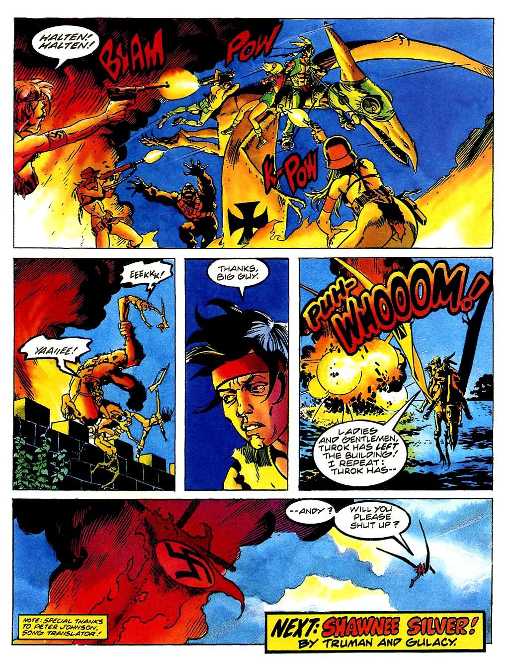 Read online Turok, Dinosaur Hunter (1993) comic -  Issue #38 - 21