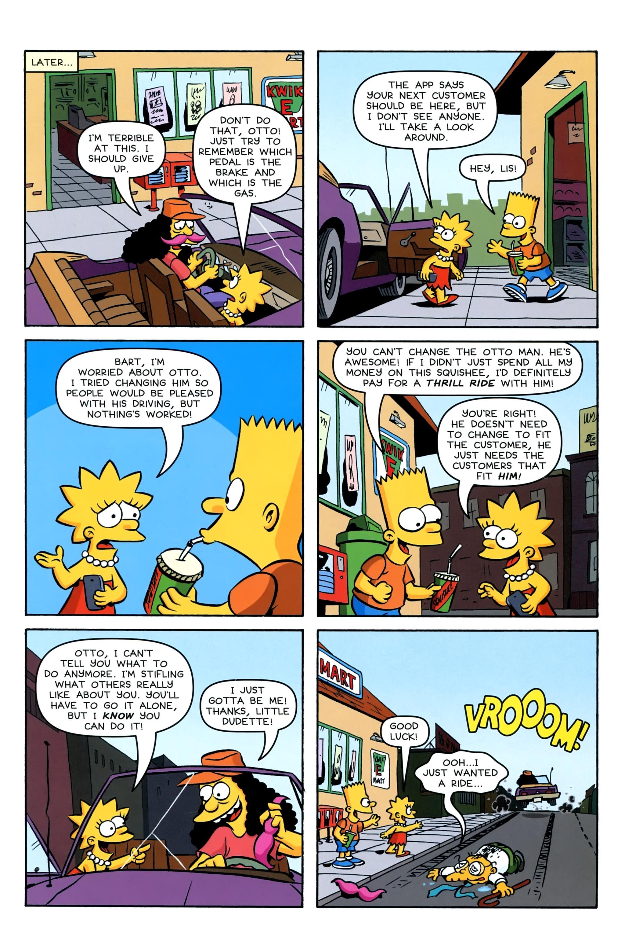 Read online Simpsons Comics Presents Bart Simpson comic -  Issue #95 - 23