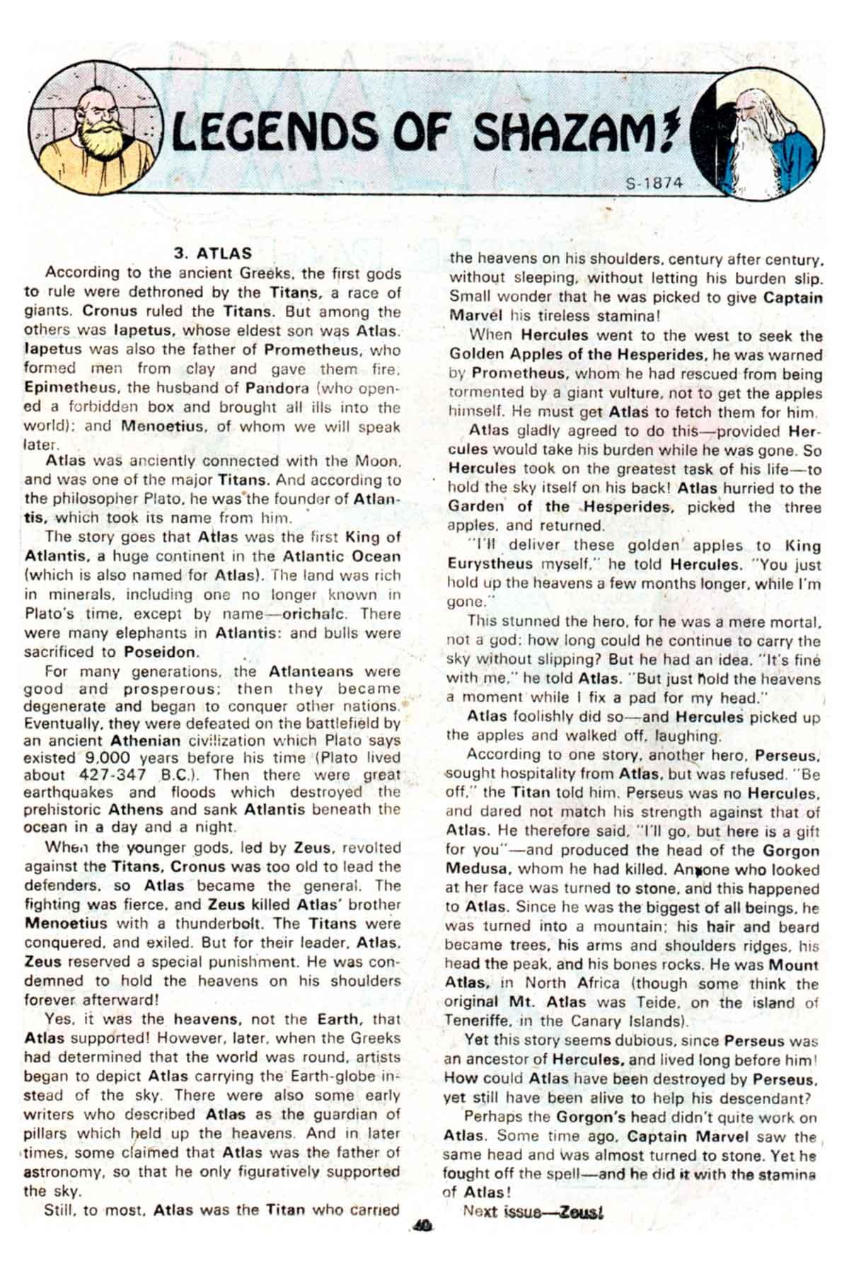 Read online Shazam! (1973) comic -  Issue #16 - 40