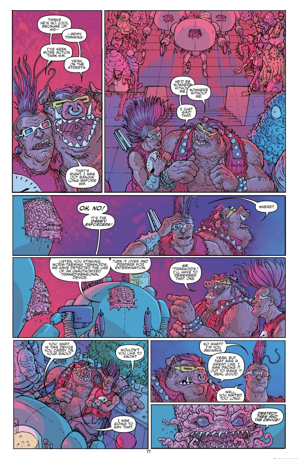 Read online Teenage Mutant Ninja Turtles: The IDW Collection comic -  Issue # TPB 8 (Part 1) - 76