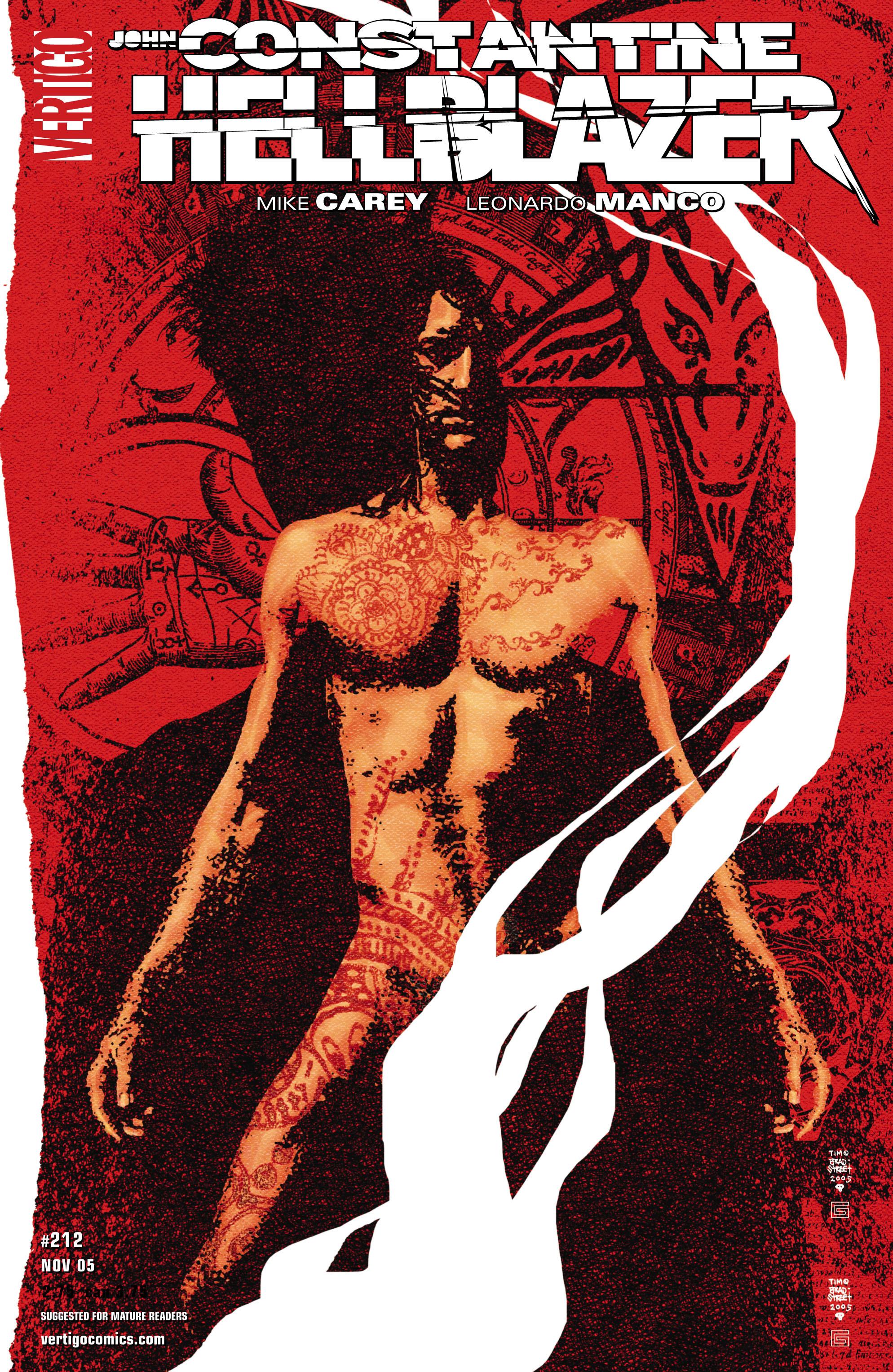 Hellblazer issue 212 - Page 1